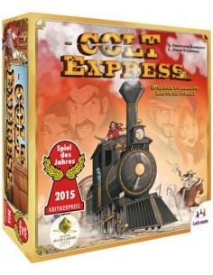Colt Express Asmodee Familiar