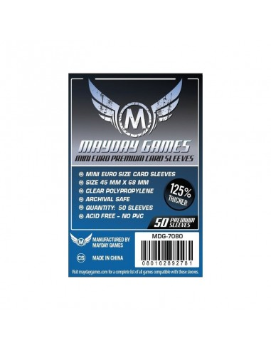 Fundas Mayday Mini Euro Premium 45x68 mm Mayday Games Fundas