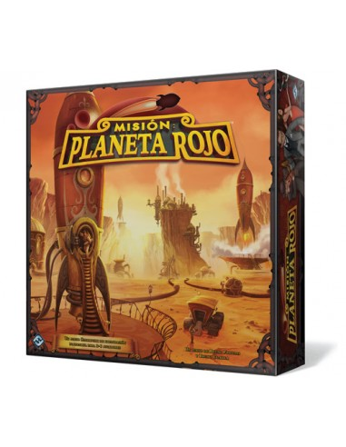 Misión: Planeta Rojo Fantasy Flight Games Familiar