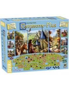 Carcassonne Plus 2017 Devir Familiar