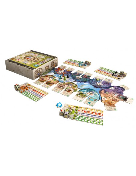 Dice Forge Asmodee Familiar