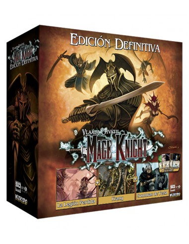 [Pre-Venta 10/05/2019] Mage Knight Edición Definitiva SD Games Estrategia