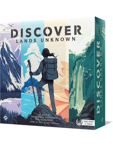 Discover: Lands Unknown Fantasy Flight Games Estrategia