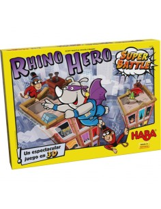 Rhino Hero Super Battle HABA Familiar