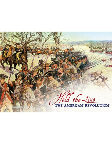 Hold the Line: The American Revolution (English) PSC Games Wargames