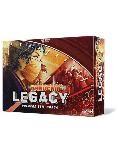 Pack Pandemic Legacy: Primera y Segunda Temporada Z-MAN Games Packs