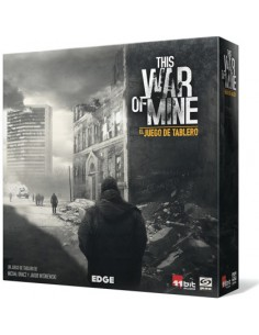 Pack This War of Mine: El juego de tablero + Historias de la Ciudad en Ruinas Edge Entertainment Packs