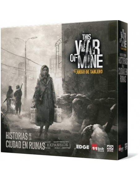 Pack This War of Mine: El juego de tablero + Historias de la Ciudad en Ruinas + Días de Asedio Edge Entertainment Packs